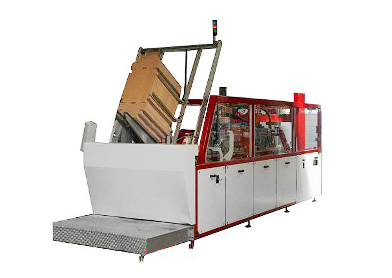 片式纸箱裹包装箱机